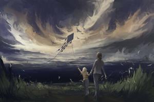 Flying by EinarNordstrom