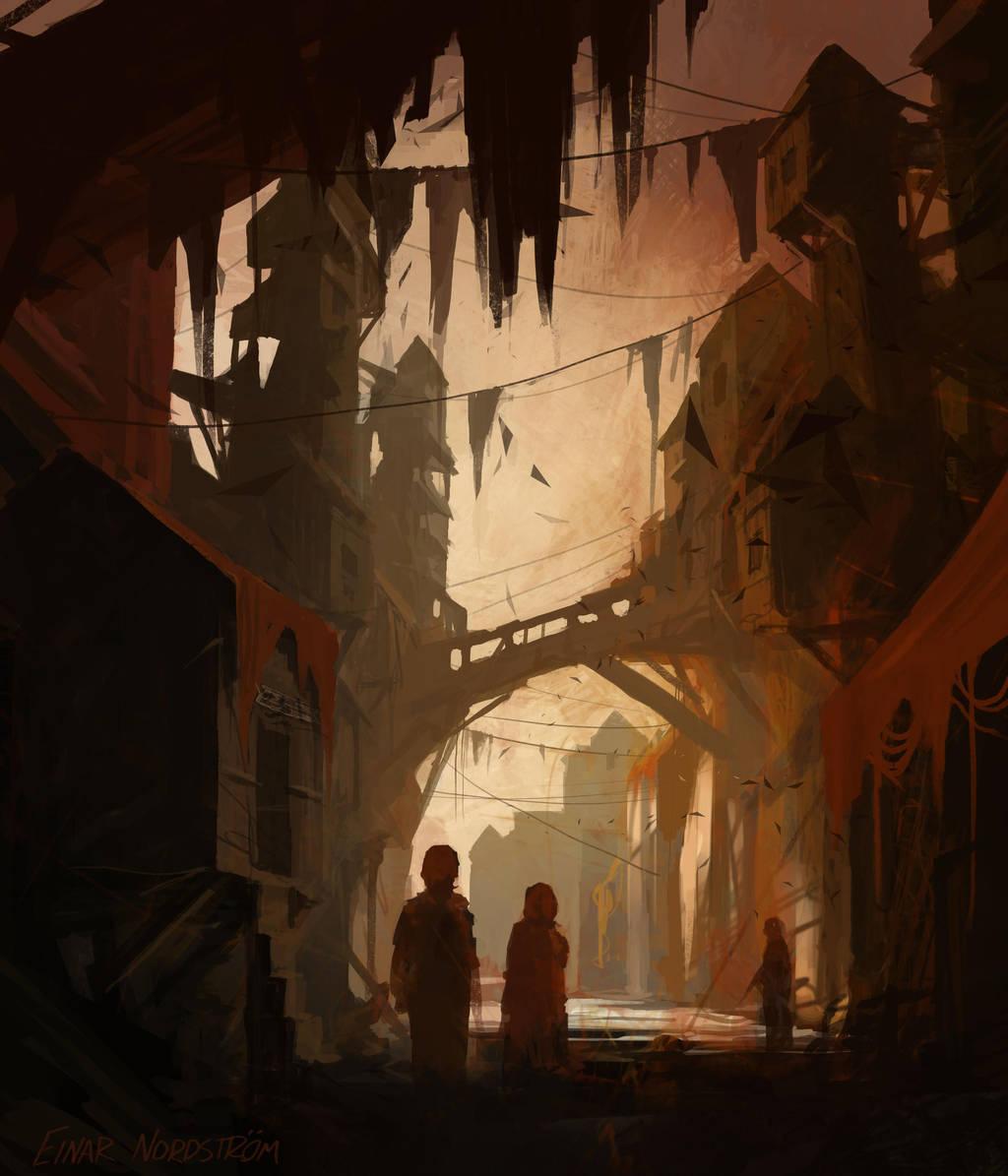 Gerbi Alley by EinarNordstrom
