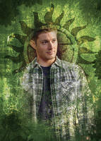 Dean Winchester Grainy Green by liasid