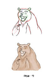 Animating/Painting 'For the Bear' by madelinebyrne