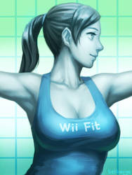 Wii Fit Trainer by bellhenge