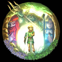 A LINK TO THE PAST by bellhenge