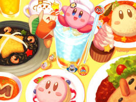 Kirby Cafe by bellhenge