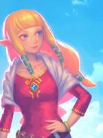 Re: Lovely Zelda by bellhenge