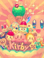 Kirby 25th Anniv by bellhenge