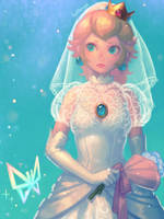 Wedding Peach(2) by bellhenge