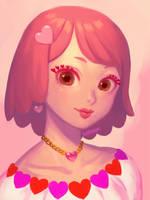 Heart Girl by bellhenge