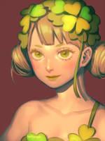Clover Fairy by bellhenge
