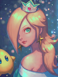 Re: Princess Rosalina by bellhenge