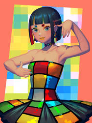 Rubik's Cube by bellhenge