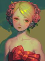 Bouquet Girl by bellhenge