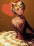 Cake Girl by bellhenge