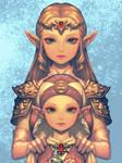 OoT Princess Zelda by bellhenge