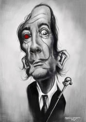 Salvador Dali by tiaggotampinha