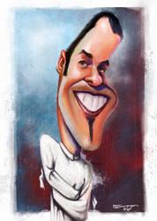 cartoonist Dalcio Machado by tiaggotampinha