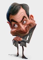Mr Bean by tiaggotampinha