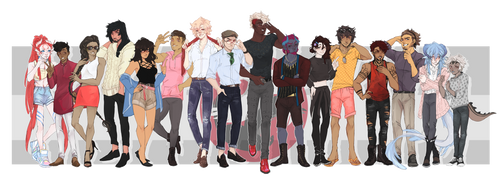 [DAMMED] - Casual Cadets by aomaoe