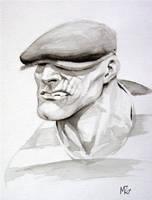 HeroesCon Sketch: Goon by RansomGetty