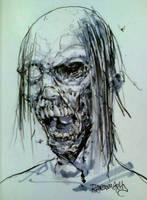 ZombieHead by RansomGetty