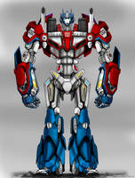 Optimus Prime by Partin-Arts