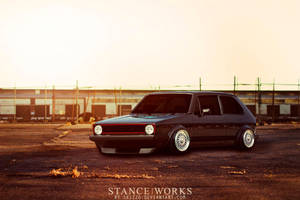 Golf MK1 STANCE|WORKS Style by Sk1zzo