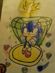 Sonic the hedgehog by Nightstar345