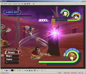 Kingdom Hearts Screen Shot 2 by R-a-j