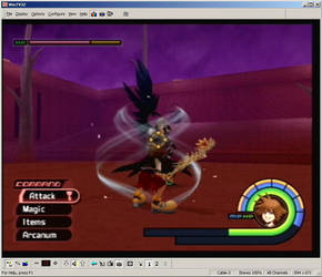 Kingdom Hearts Screen Shot 3 by R-a-j