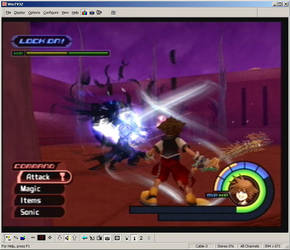 Kingdom Hearts Screen Shot 6 by R-a-j