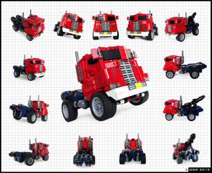 Optimus Prime/Convoy - truck mode by QuQuS