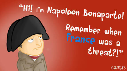 Napoleon Bonaparte by NobleRains