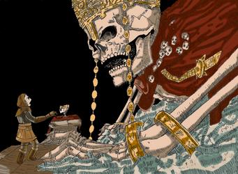 High Lord Wolnir by Dasheshka