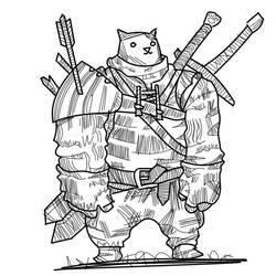 Catwarrior by Dasheshka