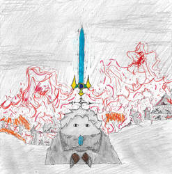 Sword of Hope by monofluore