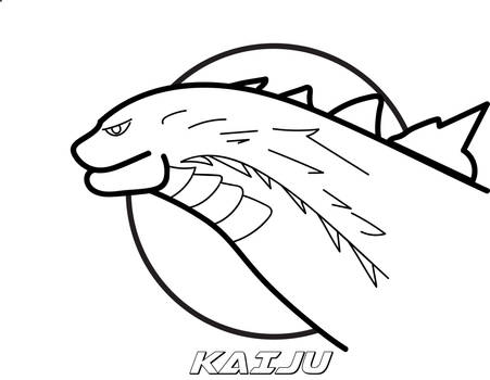 Kaiju logo by monofluore