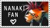 Nanaki Stamp by littlealliegator