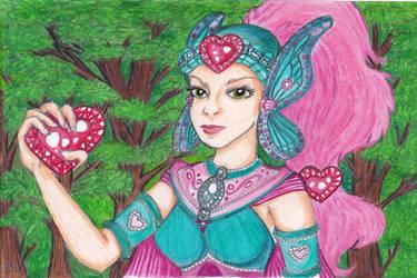 Jewel Riders: Tamara in Armor - Color by princess-seranade