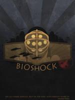Bioshock poster by Slaizen