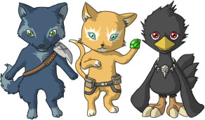 Commissions : Chibi Pet by Slaizen