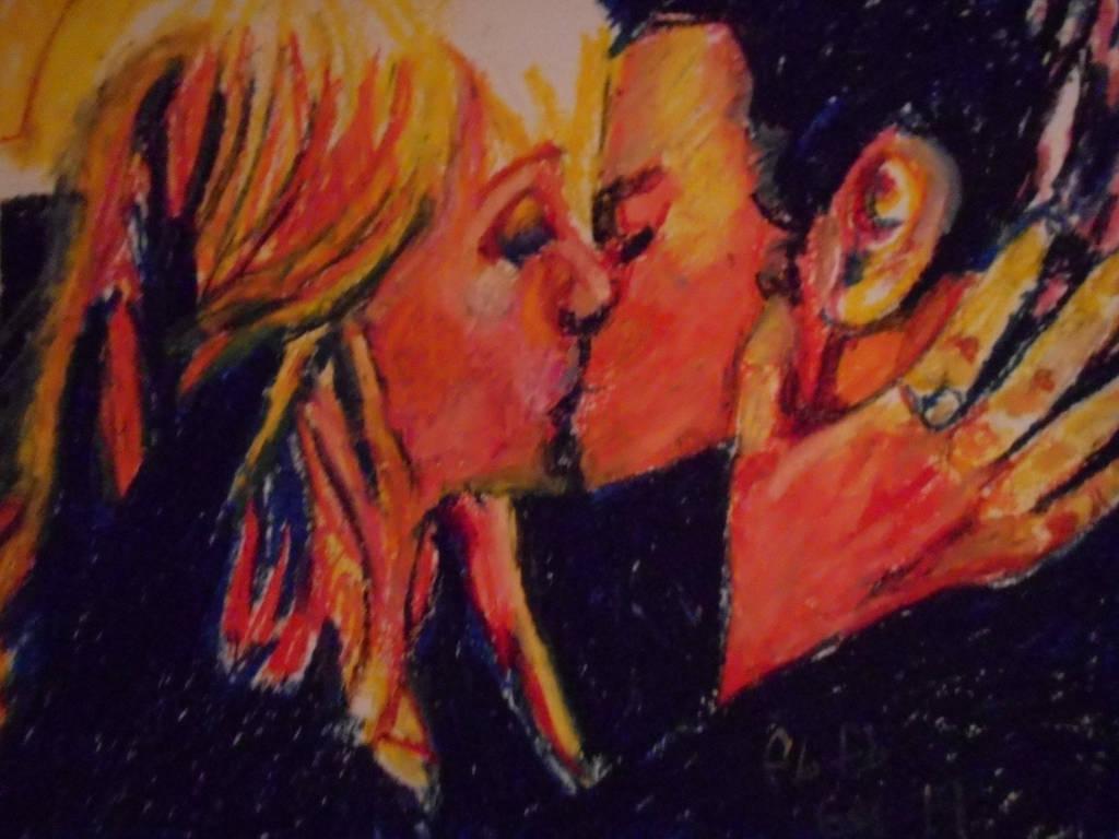 Stefen And Caroline In Oil 004 by fbforbill