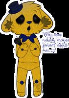 poor golden freddy by MrMilkshake