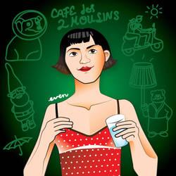 Amelie: La Chica del Vaso by leveland