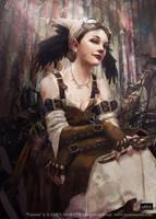Victoria by LaminIllustration