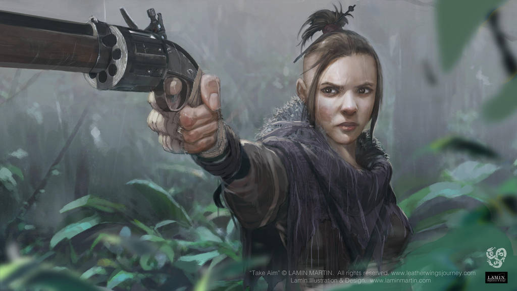 Take Aim by LaminIllustration