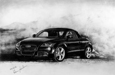 Audi TT Roadster by long-haired-lady