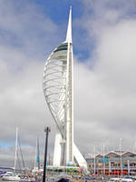 Spinnaker Tower by Pixie-Aztechia