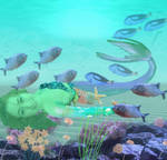 Another dream like world, under the sea. by Pixie-Aztechia