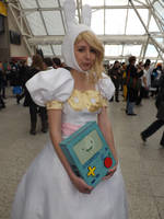 Adventure Time cosplay, MCM Expo London. May 2013 by Pixie-Aztechia