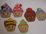 Cupcake illustrations by Pixie-Aztechia