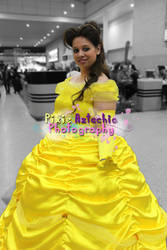 Belle Cosplay, MCM Expo October 2013. by Pixie-Aztechia